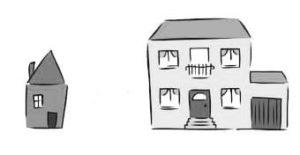 दो घर